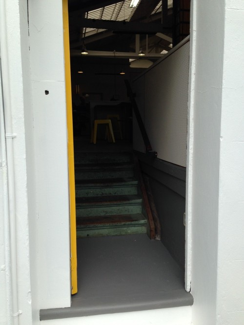 New entrance