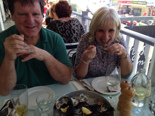 First time oyster eater