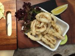 Tasty calamari