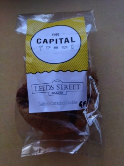 Salted Caramel Cookie from Leeds St Bakery